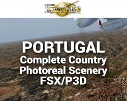 MegaSceneryEarth Portugal Complete Country Photoreal Scenery for FSX/P3D