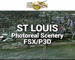 St Louis Photoreal Scenery Ultra-Res Cities