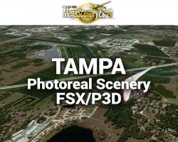 Tampa Photoreal Scenery Ultra-Res Cities for FSX/P3D