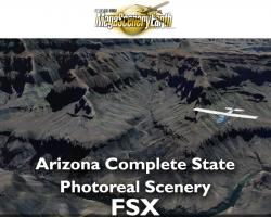 MegaSceneryEarth Arizona Complete State Photoreal Scenery for FSX/P3D