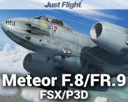 Meteor F.8/FR.9 for FSX/P3D