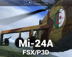 Mil Mi-24A Hind-B for FSX/P3D