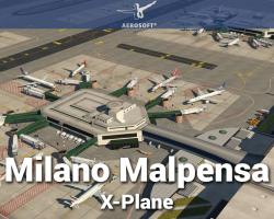 Airport Milano Malpensa Scenery for X-Plane