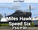 Aeroplane Heaven Miles Hawk Speed Six for FSX/P3D