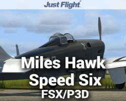 Aeroplane Heaven Miles Hawk Speed Six for FSX/P3D