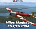 First Class Sim. Miles Magister for FSX/FS2004