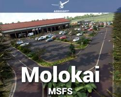 Molokai Airport Scenery