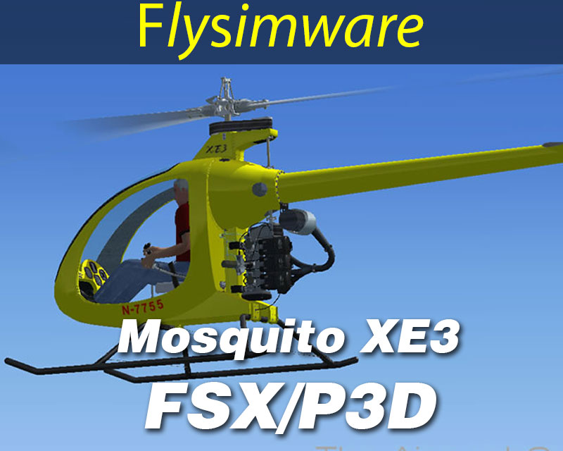 Mosquito XE3 for FSX/P3D