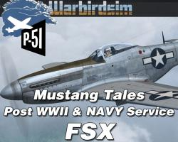 Mustang Tales: Post WWII and Navy Service for FSX