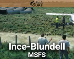 Free Ince-Blundell (EGIC) Airfield Scenery