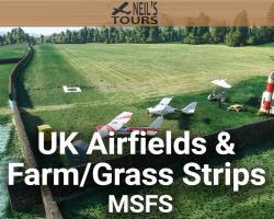 UK Airfields & Farm/Grass Strips Scenery Mega Pack