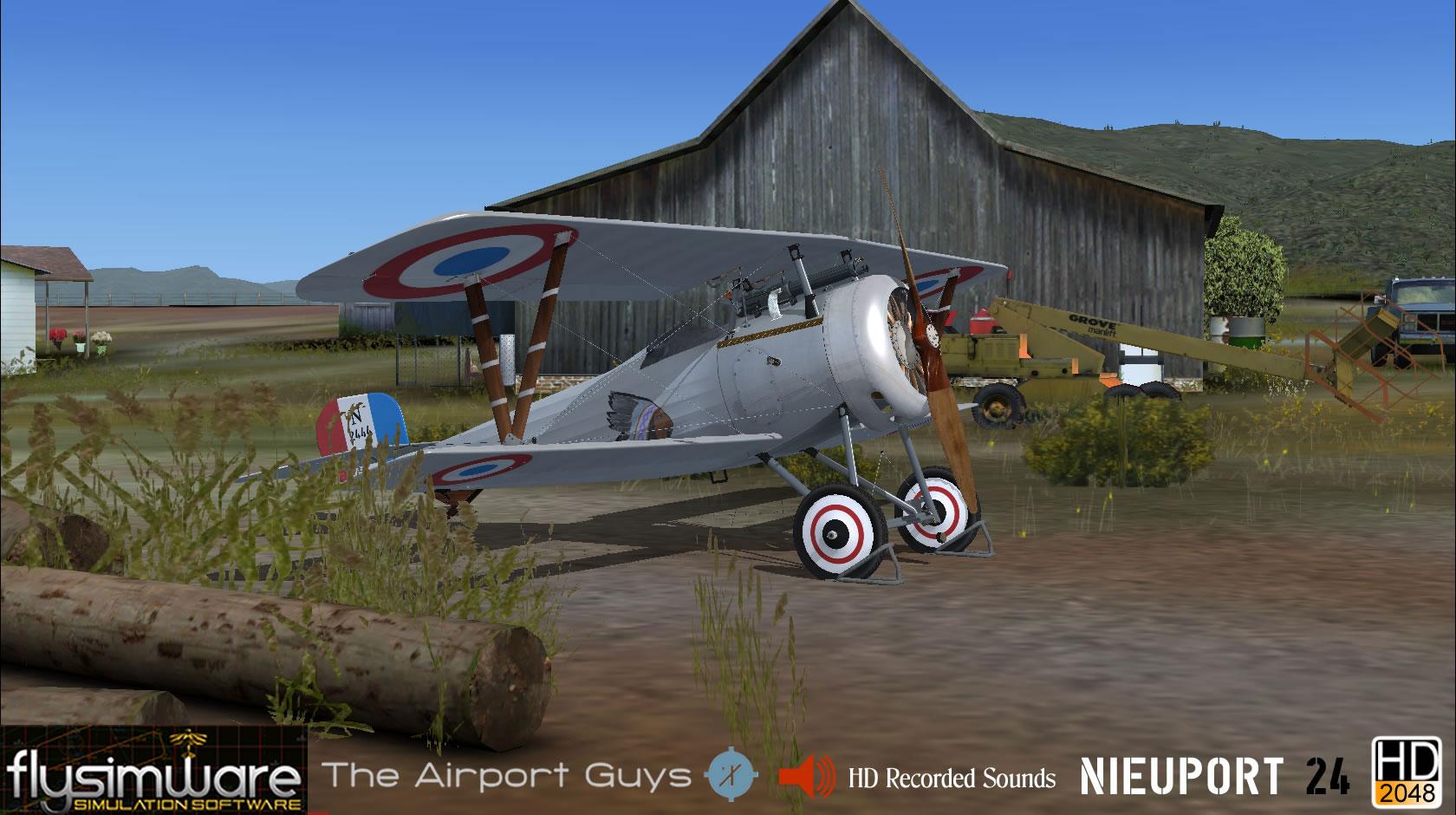 1917 Nieuport 24 for FSX/P3D