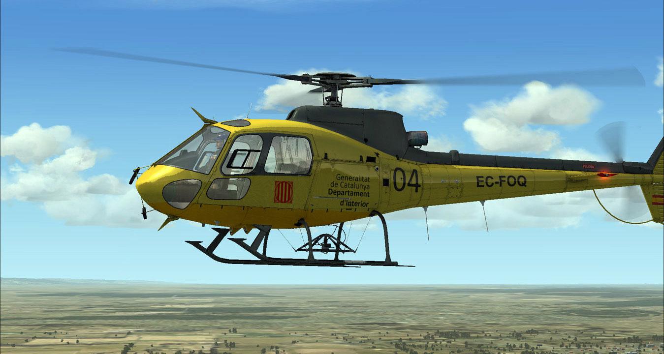 aerospatiale as350 ecureuil for fsx by nemeth designs rh simshack net Eurocopter AS350 B3 Astar Eurocopter AS350