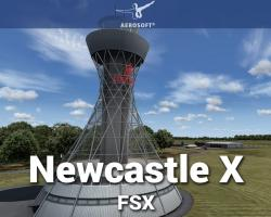 Newcastle X Airport Scenery for FSX