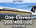 BAC One-Eleven (1-11) 300/400/500 for FSX/P3D