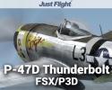P-47D Thunderbolt for FSX/P3D