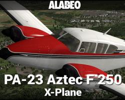 Piper PA-23 Aztec F 250 for X-Plane