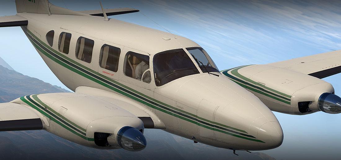 Piper PA-31 Navajo HD Series for X-Plane 11