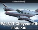 Piper PA-31T Cheyenne II for FSX/P3D