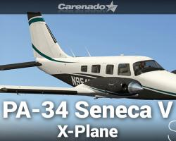 Piper PA-34 Seneca V HD Series