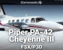 Piper PA-42 Cheyenne III for FSX/P3D