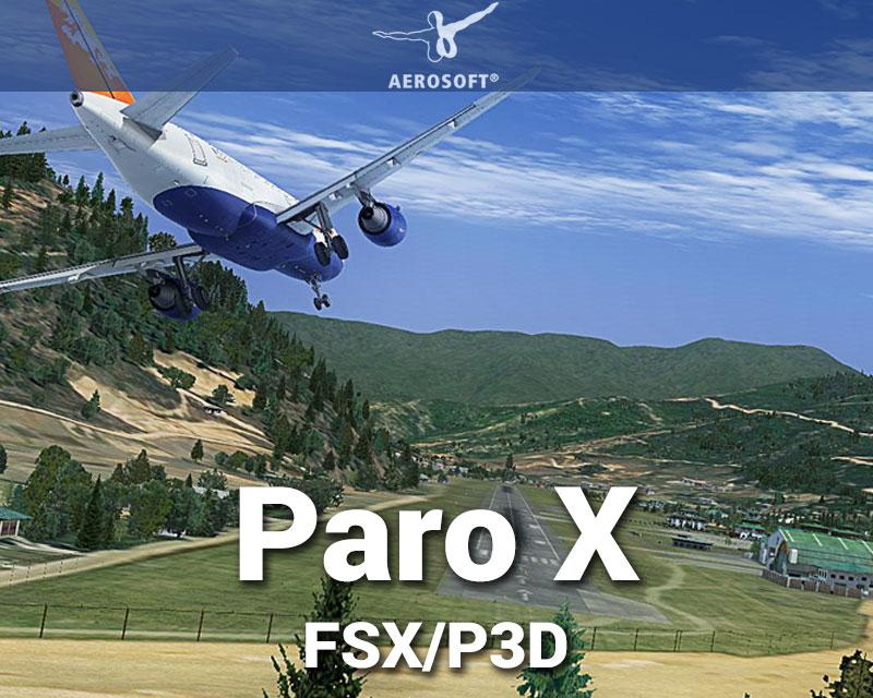 FSDG Paro X Scenery for FSX/P3D