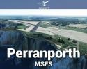 Perranporth Airfield (EGTP) Scenery for MSFS