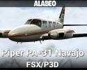 Piper PA-31 Navajo for FSX/P3D