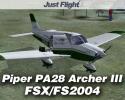 Flying Club Piper Archer III for FSX/FS2004