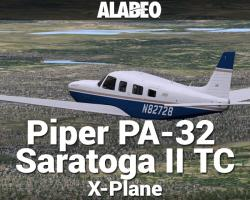 Piper PA-32 Saratoga II TC for X-Plane