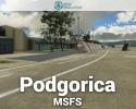 Podgorica Airport (LYPG) Scenery for MSFS
