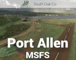 Port Allen Airport (PHPA) Hawaii Scenery