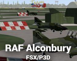 RAF Alconbury Scenery