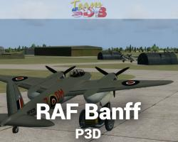 RAF Banff Scenery for P3D