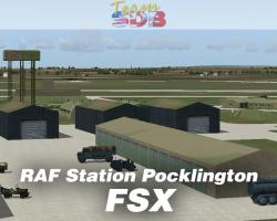 RAF Station Pocklington (1943) Scenery