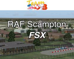 RAF Scampton Scenery for FSX/P3D
