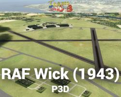 RAF Wick (1943) Scenery for P3D
