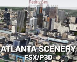 Atlanta Scenery for FSX/P3D