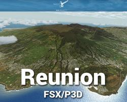 Reunion Scenery for FSX/P3D