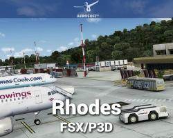 Rhodes Scenery for FSX/P3D