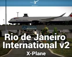 Airport Rio de Janeiro International Scenery v2.0