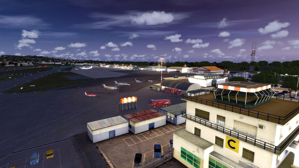 Roma Ciampino X Scenery For Fsx P3d By Aerosoft