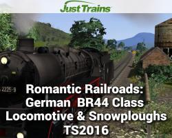 Romantic Railroads: German BR44 Class Locomotive & Snowploughs for TS2016