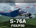 Sikorsky S-76A for FSX/P3D