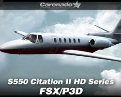 Cessna S550 Citation II HD Series