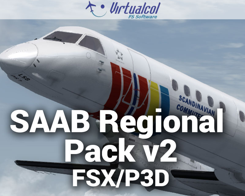 SAAB Regional Pack v2 for FSX/P3D