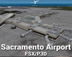 Sacramento Airport Scenery