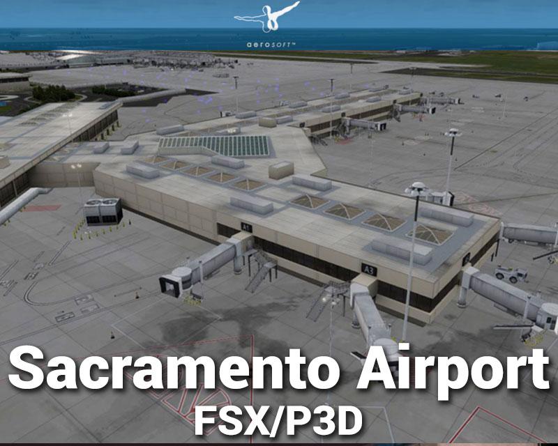 Sacramento Airport Scenery for FSX/P3D