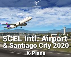 SCEL Intl. Airport & Santiago City 2020