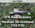 Scotland Photoreal Scenery for FSX/P3D - VFR Real Scenery NexGen 3D Vol. 4